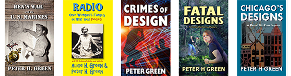 Author Peter Green...