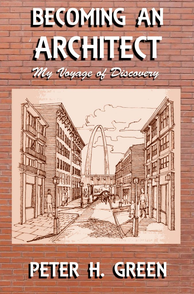 Architect's memoir-Becoming an Architect: My Voyage of Discovery. Cover image